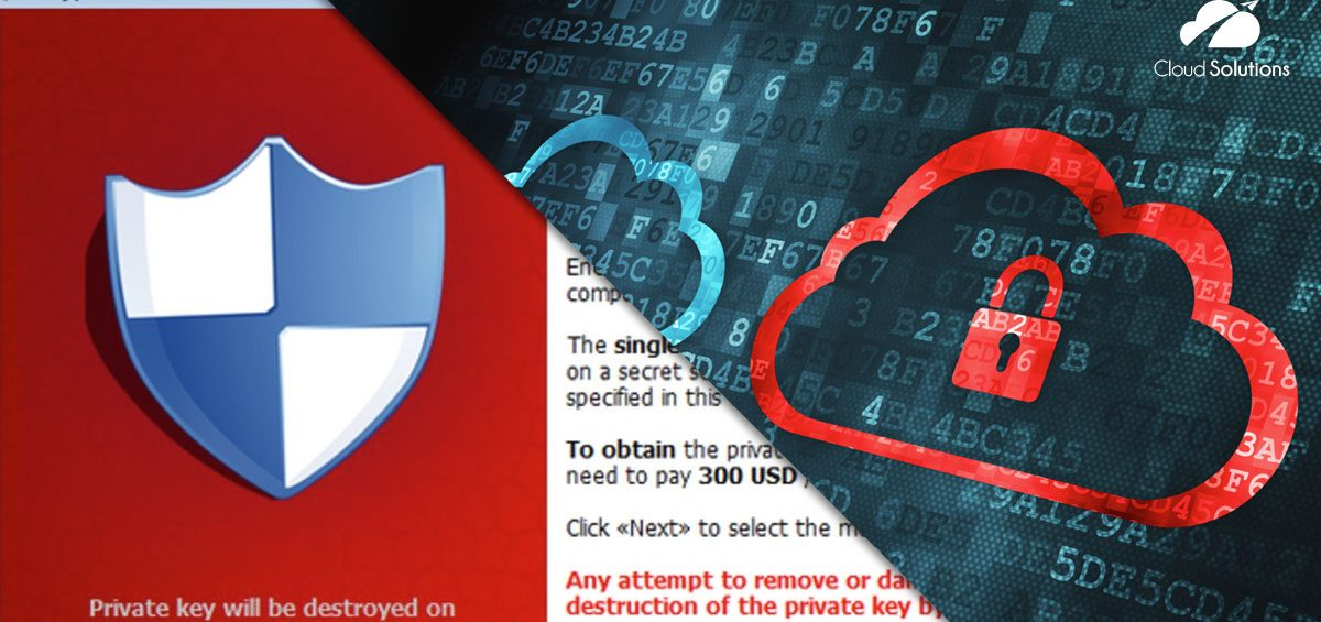 proteggere dati dal virus cryptolocker cloud solutions